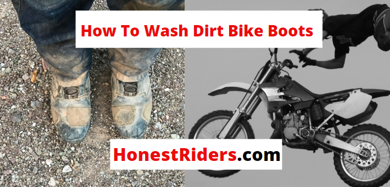 how to wash dirt bike boots